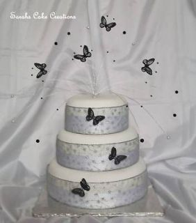 Stunning Butterfly Wedding Cake Topper Decoration