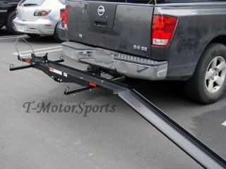 SPORT BIKE MOTORCYCLE CARRIER truck pick up hauler hitch rack trailer
