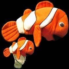 NEW CLOWN FISH UNDER THE SEA PARTY BIRTHDAY SCHOOL PLAY PLUSH HAT