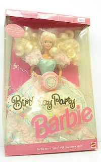 Contemporary (1973 Now)  Barbie Dolls  Happy Birthday Barbie