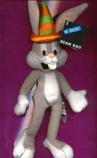 Looney Tunes Bugs Bunny birthday beanbag plush toy cloth doll Warner
