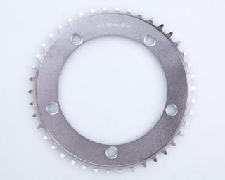 CNC Chainring Chain Ring Track Fixie Road Single Speed Bike Silver