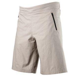 Fox Racing Mens Baseline MTB Bike Cycling Baggy Shorts Stone SIZE W36