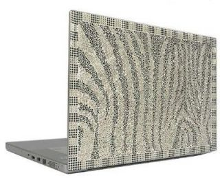 Crystal Rhinestone Bling Laptop Sticker Sheet Cover Skin Case