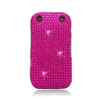 Hot Pink Bling Diamond Case For Blackberry Curve 9310/9320 Verizon