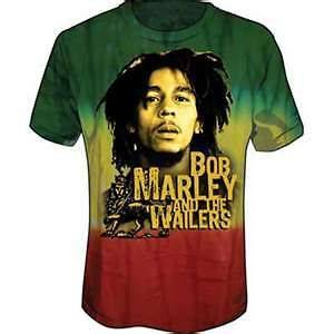 BOB MARLEY WAILERS LION YOUTH TIE DYE T SHIRT NEW ZION OFFICIALLY