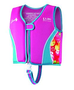 Youth UV Neoprene Swim Vest Life Vest Safety Swimming Jacket Large