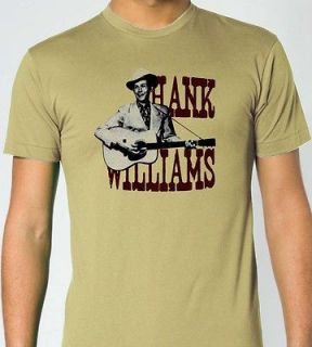 HANK WILLIAMS Country Music Blues T Shirt S M L XL XXL
