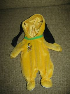 Lauer Water baby Disney Pluto Doll Outfit Clothes Only Velcro Back