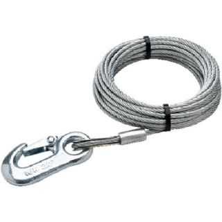 16 Inch x 25 Ft Boat Trailer Winch Cable   4,000 lbs Tensile