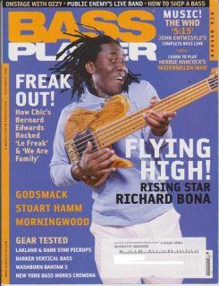 Bass Player Magazine (September 2006) Richard Bona