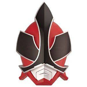 POWER RANGERS === Super Samurai Mega Ranger Mask  Red === BANDAI