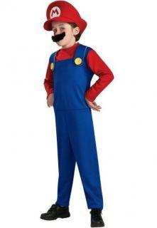 Nintendo Super Mario Brothers Boys Halloween Child Costume  Medium