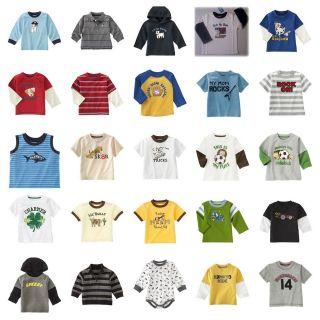 NWT Gymboree Baby Toddler Boy TEE Choices #02