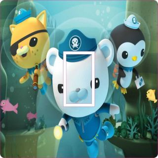 OCTONAUTS BEDROOM LIGHT SWITCH COVER / STICKER