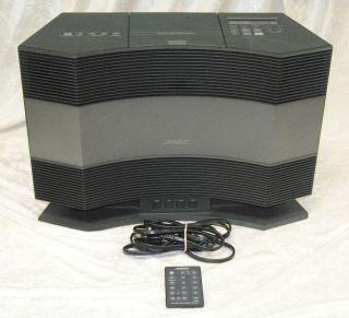 Bose Acoustic Wave Music System CD 3000 AM/FM Radio 120V 60/50Hz w