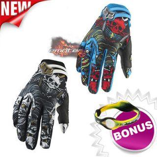 Anti Scene Dirt Bike Cycling Racing Motocross Gloves Gear Size L