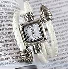 Lady Women Fashion Classical Extend Leathr Braided Strap Quartz Wrist