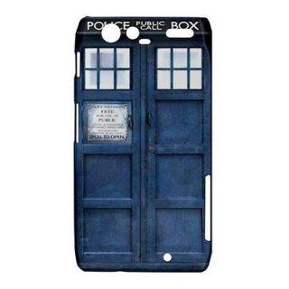 Dr Who Tardis Police Public Call Box Motorola Droid Razr XT912 Hard