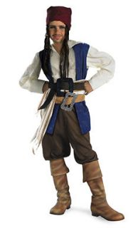 Boys Captain Jack Sparrow Pirate Costume