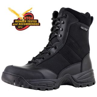 MENS 8 BLACK POLICE TACTICAL COMBAT MILITARY BOOT   T5180 (NTOA