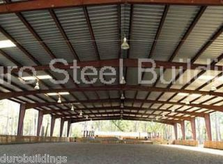 Duro Steel 100x200x20 Metal Building Factory Clearance Sale Clear Span