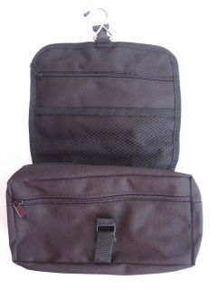 TRAVEL WASH BAG MENS HANGING FOLDING TOILETRY HOLIDAY BUSINESS CASE