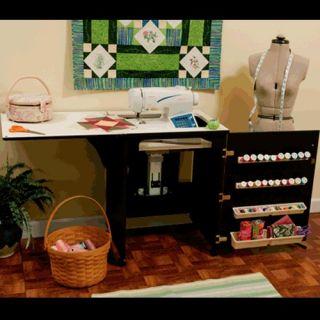 sewing machine cabinet