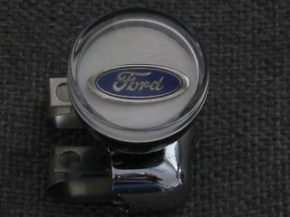 Ford Oval Suicide Steering Wheel Spinner Knob