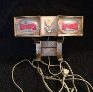 vintage budweiser lights in Collectibles