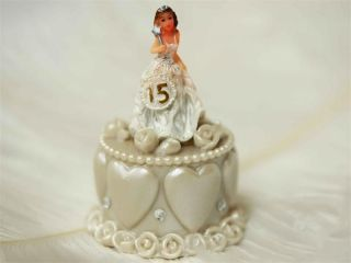96 Quinceanera Sweet 15 Birthday Cake Topper Favors Souvenirs Table