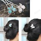 butterfly hair pins in Clothing,