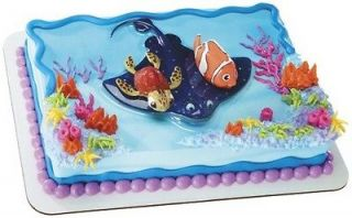Finding Nemo birthday cake kit toppers party supplies decorations