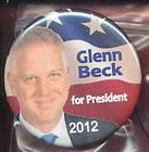 GLENN BECK PRESIDENT FULL COLOR Sticker 076