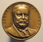 Medallic Art NY William Howard Taft Presidential Medal High Relief