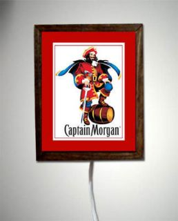 Captain Morgan Rum Pirate Bar Room Light Lighted Sign 2