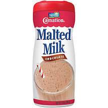 Carnation Malted Milk powder mix 13 oz chocolate malt