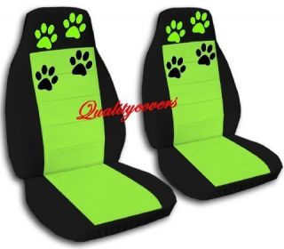 set paw prints front car seat covers CHOOSE,OTHER ITEMS&BACK SEAT AVBL