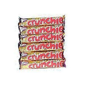 IRISH CHOCOLATE Candy *FULL BOX* Cadbury Crunchie Food Ireland