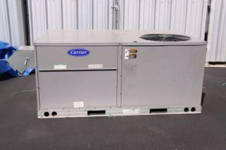 TON AC UNIT, CARRIER SINGLE PACKAGE ROOFTOP HEAT PUMP
