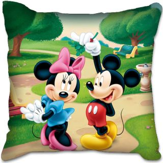 Mickey Minnie Mouse Christmas Toy Plush Home Car Seat Bed Chair