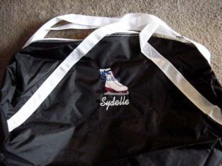 Personalized Ice Skating Figure Skate Duffle Bag