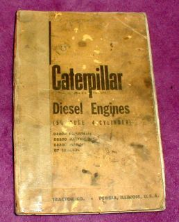Caterpillar Diesel Engine 5 3/4 Bore Servicemens Reference Manual 4