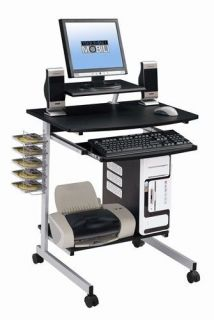 New Portable Home Office Dorm Computer & Printer Desk