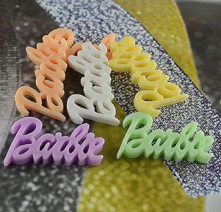 Mixed barbie Kawaii Flatback Scrapbooking Resin Cabochons Craft H118