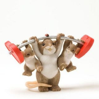 Charming Tails Love Makes Our Family Strong, Weight Lifting Weights
