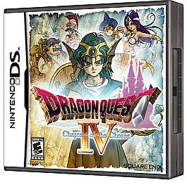 DRAGON QUEST IV 4 CHAPTERS OF THE CHOSEN NINTENDO DS GAME DSI LITE