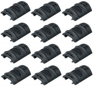 UTG Set of 12 Rubber Rail Guards Fits S&W M&P 15 22 Mossberg Tactical