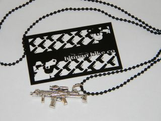 HITMAN BIKES TACTICAL ACR ball chain necklace mens jewlery new 24 inch
