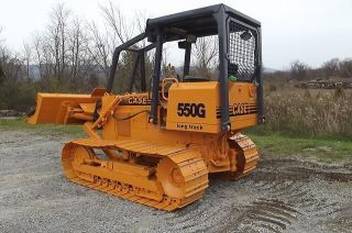 1998 CASE 550G CRAWLER DOZER LONG TRACK CUMMINS